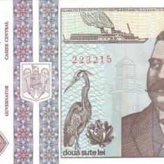 Romania 200 Lei 1992 (Grigore Antipa) KM-100 UNC !!! - Bancnota romaneasca
