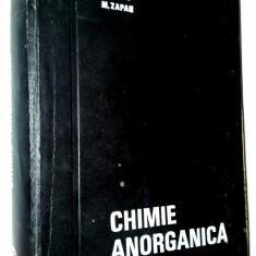 Chimie Anorganica - E. Beral, M. Zapan, Ed. tehnica 1968 - Carte Chimie