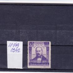 ROMANIA LP 149 - 1942 ANDREI MURESANU, Nestampilat