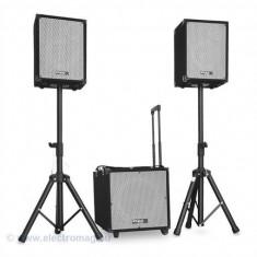 KIT SUBWOOFER 12 inch+2 SATELITI 8inch+2 STAND BOXA - Mixere DJ