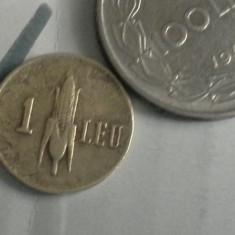 1 LEU 1941/11+CADOU 100 LEI REGE MIHAI - Moneda Romania
