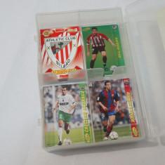 Colectie cartonase Mega Cracks 2004-05  -126 cartonase  + cutie depozitare