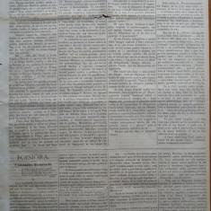 Ziarul Albina , nr. 34 , 1871 , Budapesta , in limba romana , Director V. Babes