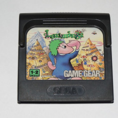 Joc SEGA Game Gear Gamegear - Lemmings - Jocuri Sega, Actiune, Toate varstele, Single player