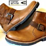 Ghete Camel Active, noi 100%piele - Ghete barbati, Marime: 46, Culoare: Din imagine, Piele naturala