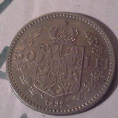 50 LEI 1937/4 FRUMOASA - Moneda Romania