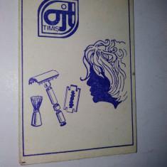 Carnetel note - perioada comunista - ajt Timis - reclama aparat de barbierit - Reclama Tiparita