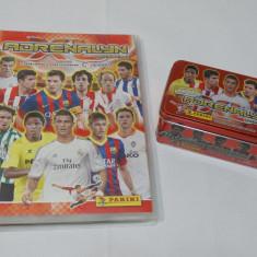 Colectie album cartonase Liga BBVA 2013-14 -243 cartonase + cutie metal + album - Cartonas de colectie