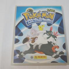 Album colectie Pokemon League Champions Panini -146 cartonase magnetice - Cartonas de colectie