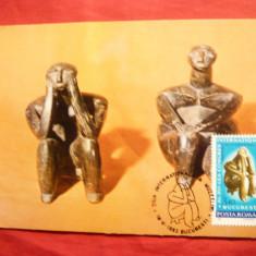 Maxima - Ganditorul - Statueta Neolitica 1981