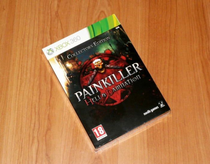 Joc XBOX360 - Painkiller Hell & Damnation Collector's Edition , sigilat