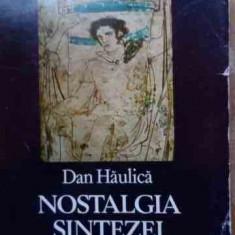 Nostalgia Sintezei - Dan Haulica, 528457 - Album Arta