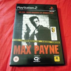 Joc Max Payne, PS2, original, alte sute de jocuri! - Jocuri PS2 Rockstar Games, Actiune, 18+, Single player