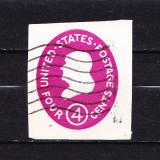 Timbre AMERICA 1950 = FRAGMENT DE PLIC, Stampilat