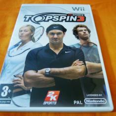 Top Spin 3, pentru Wii, original, alte sute de jocuri - Jocuri WII Altele, Sporturi, 3+, Multiplayer