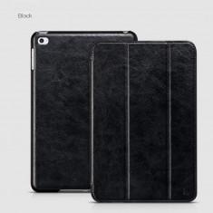 Husa/toc LUX piele fina HOCO Crystal, iPad MINI 4, smart cover, culoare: NEGRU - Husa Tableta