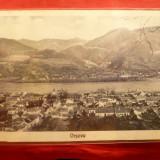 Ilustrata Orsova 1929 - Carte Postala Banat dupa 1918, Necirculata, Fotografie