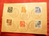 Carte Postala Militara cu seria Regi Ungari , stamp. spec.Cluj 1943, Necirculata, Printata