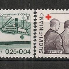 Finlanda.1964 Crucea Rosie CF.388 - Timbre straine, Nestampilat