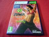 Joc Kinect Zumba Fitness Party, XBOX360, original, alte sute de jocuri!, Sporturi, 3+, Multiplayer