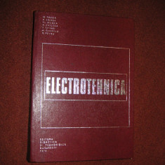 ELECTROTEHNICA - M. PREDA, P. SONEA, FL. MANEA - Carti Electrotehnica