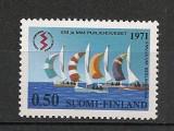 Finlanda.1971 C.M. si C.E. de yachting Helsinki  CF.403, Nestampilat