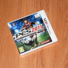 Joc Nintendo 3DS - Pro Evolution Soccer 2011 ( PES )  , nou, sigilat, Sporturi