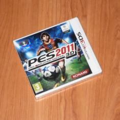 Joc Nintendo 3DS - Pro Evolution Soccer 2011 ( PES ), nou, sigilat - Jocuri Nintendo 3DS, Sporturi