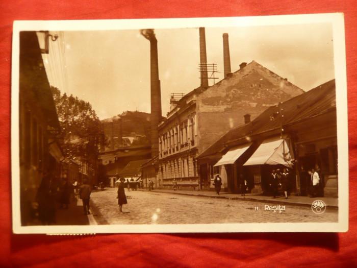 Ilustrata -Fotografie Resita , circulat 1936