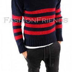 Pulover tip Zara gros - pulover barbati - pulover crosetat cod produs: 5688, Marime: S/M, L/XL, Culoare: Din imagine