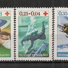 Finlanda.1966 Crucea Rosie CF.392 - Timbre straine, Nestampilat
