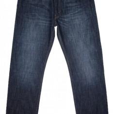 Blugi LEVI'S 505 NOI - (MARIME: W 33 / L 32) - Talie = 89 CM / Lungime = 111 CM - Blugi barbati Levi's, Culoare: Bleumarin, Prespalat, Drepti, Normal