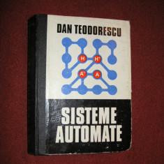 Dan Teodorescu - Sisteme Automate