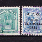 Timbre VENEZUELA 1940-46 = ANIV. SIMON BOLIVAR, Stampilat