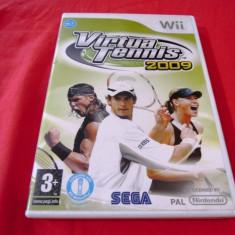 Virtua Tennis 2009, pentru Wii, original, alte sute de jocuri - Jocuri WII Sega, Sporturi, 3+, Multiplayer