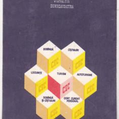 bnk cl Calendar de buzunar 1985 CEC