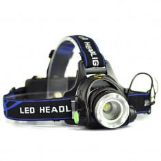 Lanterna Frontala POWER LIGHT MX-19 cu Led CREE T6 Mega Zoom NOU