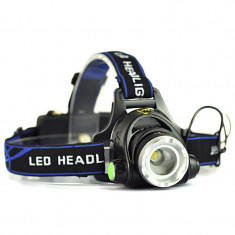 Lanterna Frontala POWER LIGHT MX-19 cu Led CREE T6 Mega Zoom NOU