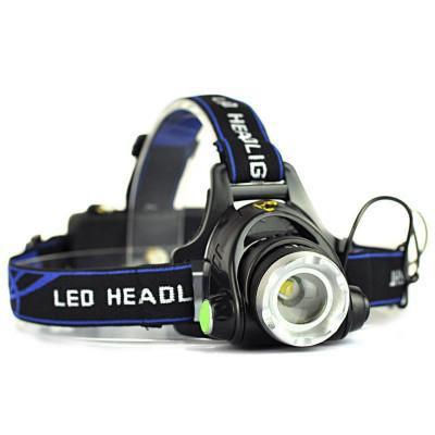 Lanterna Frontala POWER LIGHT MX-19 cu Led CREE T6 Mega Zoom NOU foto