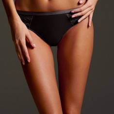 Victoria's Secret Chiloti tanga XS - Chiloti dama Victoria's Secret, Culoare: Negru