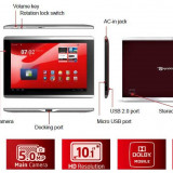Tableta Packard Bell G100W, 10.1 inch, 16GB, Wi-Fi, Android