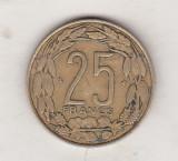 Bnk mnd Africa Centrala 25 franci 1998