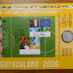 10 EURO ARGINT FIFA 2006 FOTBAL NUMISBLATT 42