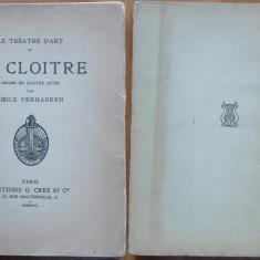 Emile Verhaeren , Le Cloitre ,Manastirea , 1924 , 1926 , gravuri , avangarda