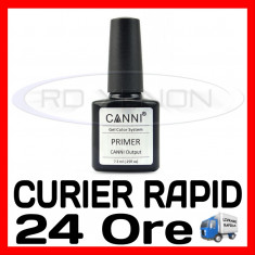 PRIMER CANNI 7,3ML - MANICHIURA UNGHII FALSE GEL UV, FRENCH - CALITATE MAX, Sina