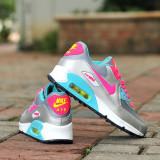 Nike AIR MAX AIRMAX 90 dama Women Bleo-Argintiu