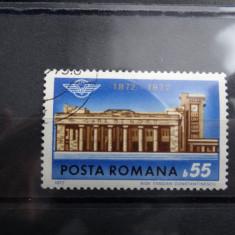 LP796-Centenarul Garii de Nord-Serie completa stampilata-1972 - Timbre Romania