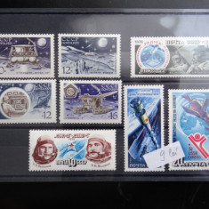 Lot timbre Rusia-CCCP-Cosmos-stampilate