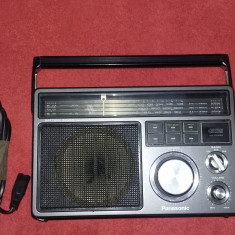 RADIO PANASONIC GX3II, MODEL RF-1403JBS .FUNCTIONEAZA PERFECT . - Aparat radio