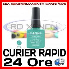 OJA SEMIPERMANENTA (PERMANENTA) ELEGANT GREEN #076 CANNI - MANICHIURA UV, Metalic